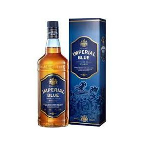 WHISKY IMPERIAL BLUE...