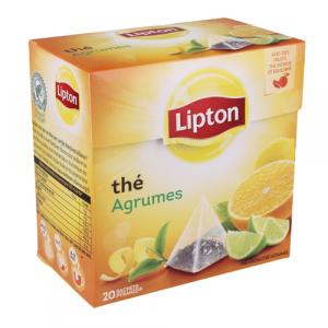 THE LIPTON AGRUMES 20S 36G