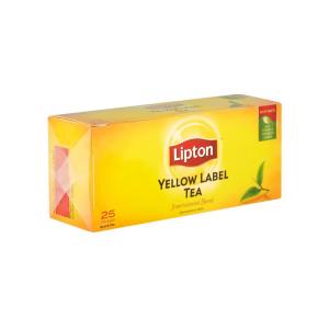 THE LIPTON YELLOW LABEL 25S...