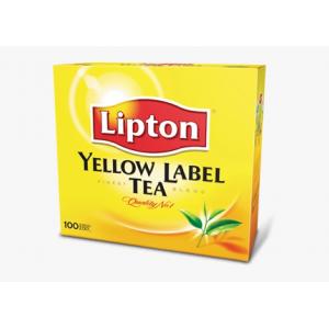 THE LIPTON YELLOW LABEL...