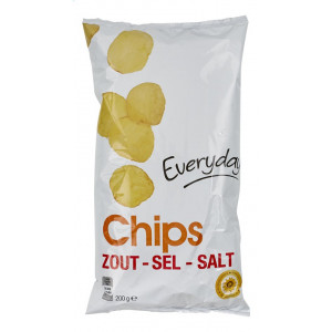 CHIPS ZOUT SEL EVD 200G