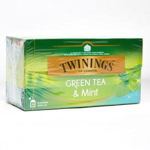 THE TWININGS GREEN TEA&MINT...