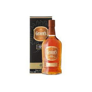 WHISKY GRANT'S 18 ANS 75CL